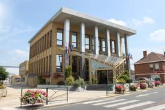 Mairie de Courrieres